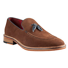Buy JOHN LEWIS & Co. Suede Devon Tassel Loafers Online at johnlewis.com