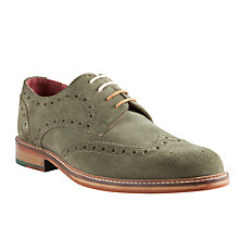 Buy JOHN LEWIS & Co. Rutland Wingtip Suede Brogues Online at johnlewis.com
