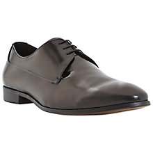 Buy Dune Republic Gibson Leather Shoes, Black Online at johnlewis.com