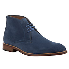 Buy John Lewis Chumbley Chukka Boots, Ming Blue Online at johnlewis.com