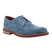 Buy JOHN LEWIS & Co. Dublin Derby Shoes, Baltic Blue Online at johnlewis.com
