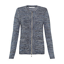 Buy John Lewis Capsule Collection Space Dye Cotton Cardigan, Blue Online at johnlewis.com