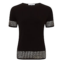 Buy COLLECTION by John Lewis Short Sleeved Geometric Jersey Top Online at johnlewis.com