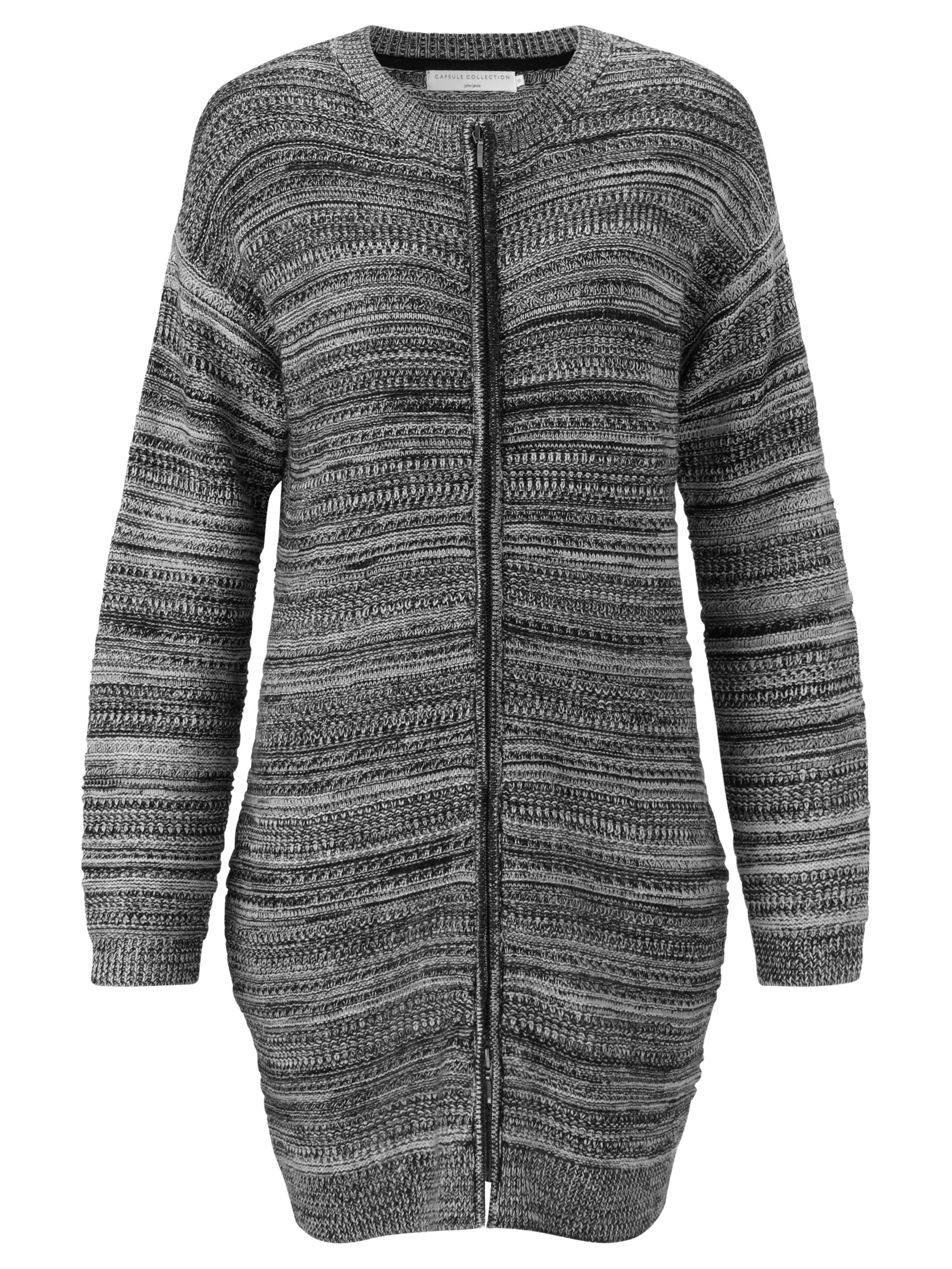 john lewis capsule collection textured stripe long cardigan black/putty, john, lewis, capsule, collection, textured, stripe, long, cardigan, black/putty, john lewis capsule collection, 10 14 16 18 12, clearance, womenswear offers, john lewis brands, special offers, women, womens dresses, womens knitwear, womens dresses offers, latest reductions, brands a-k, 1739259