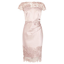 Buy Coast Luma Duchess Satin Dress, Dusky Pink Online at johnlewis.com