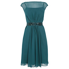 Buy Coast Lori Lee Short Dress, Emerald Online at johnlewis.com