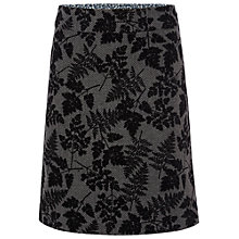 Buy White Stuff Floral Flock Skirt, Night Fall Online at johnlewis.com