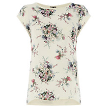 Buy Warehouse Oriental Print T-shirt, Multi Online at johnlewis.com