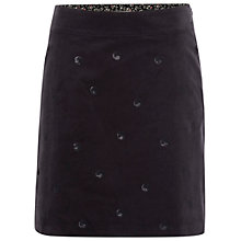 Buy White Stuff Sequin Spot Skirt, Night Fall Online at johnlewis.com
