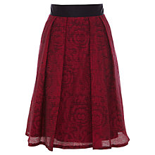 Buy Coast Cozetta Skirt, Red Online at johnlewis.com