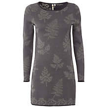 Buy White Stuff Fern Leaf Print Tunic Dress, Night Fall Online at johnlewis.com
