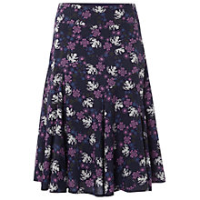 Buy White Stuff Belle Fleur Skirt, Purple Fable Online at johnlewis.com
