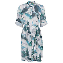 Buy French Connection Misty Mountain Shirt Dress, Multi Online at johnlewis.com