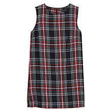 Buy Mango Plaid Dress, Bright Red Online at johnlewis.com