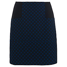 Buy French Connection Night Sky Jacquard Skirt, Black Online at johnlewis.com
