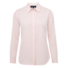 Buy Viyella Cotton Paisley Shirt, Pale Pink Online at johnlewis.com