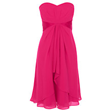 Buy Coast Michegan Short Dress, Raspberry Online at johnlewis.com