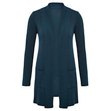 Buy Viyella Longline Merino Cardigan, Peacock Online at johnlewis.com