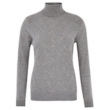 Buy Viyella Cable Roll Neck Jumper Online at johnlewis.com