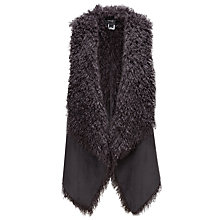 Buy Unreal Fur Duet Reversible Gilet Online at johnlewis.com