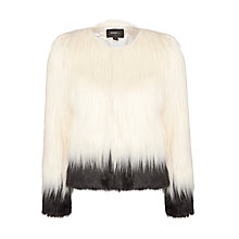 Buy Unreal Fur Fire & Ice Jacket, White Online at johnlewis.com