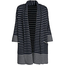 Buy Seasalt Greta Cardigan, West Towan Silver Online at johnlewis.com