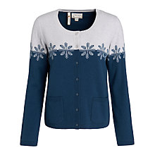 Buy Seasalt Isolde Cardigan, Conifer Chough Online at johnlewis.com