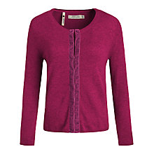 Buy Seasalt St Clements Cardigan, Wild Berry Online at johnlewis.com