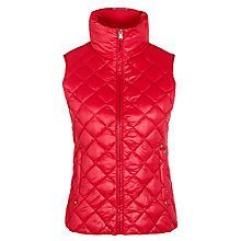 Buy Lauren Ralph Lauren Packable Quilted Gilet, Red Online at johnlewis.com