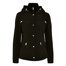 Buy Lauren Ralph Lauren Soft Hood Coat, Black Online at johnlewis.com