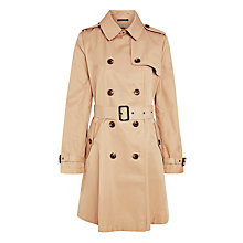 Buy Lauren Ralph Lauren Skirted Trench Coat, Neutral Online at johnlewis.com