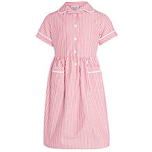 Buy John Lewis Striped School Dress Online at johnlewis.com