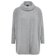 Buy Viyella Wrap Poncho, Grey Marl Online at johnlewis.com