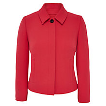 Buy Viyella Petite Textured Crepe Jacket, Geranium Online at johnlewis.com