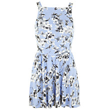 Buy Miss Selfridge Floral Pinny Playsuit, Multi Online at johnlewis.com