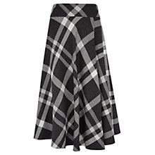 Buy Viyella Check Skirt, Grey Online at johnlewis.com