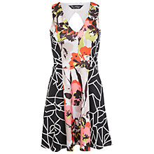 Buy Miss Selfridge Mix Print Scuba Dress, Multi Online at johnlewis.com
