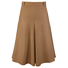 Buy Viyella Flannel A-Line Skirt, Camel Online at johnlewis.com