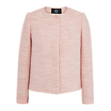 Buy Viyella Boucle Jacket, Pink Online at johnlewis.com