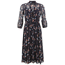 Buy Miss Selfridge Print Pussybow Dress, Multi Online at johnlewis.com