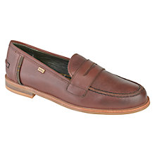 Buy Barbour Jasmine Leather Loafers Online at johnlewis.com