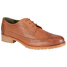 Buy Barbour Ellen Leather Brogues, Tan Online at johnlewis.com