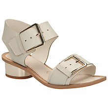 Buy Clarks Sandcastle Art Leather Sandals, Cotton Online at johnlewis.com