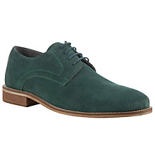 Buy Kin by John Lewis Bobby Suede Derby Shoes, Pine Green Online at johnlewis.com