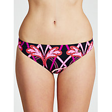 Buy Ted Baker Quinee Classic Bikini Briefs, Purple Online at johnlewis.com