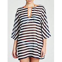 Buy Ted Baker Mottram Stripe Cover Up, Blue Online at johnlewis.com