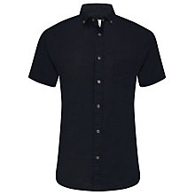 Buy John Lewis End on End Linen Short Sleeve Shirt Online at johnlewis.com