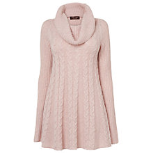 Buy Phase Eight Coral Cable Swing Jumper, Pale Pink Online at johnlewis.com