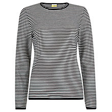 Buy NW3 by Hobbs Erin Sweater, Black Ivory Online at johnlewis.com
