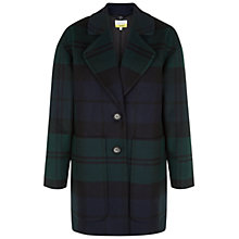Buy NW3 by Hobbs Moira Coat, Navy Multi Online at johnlewis.com
